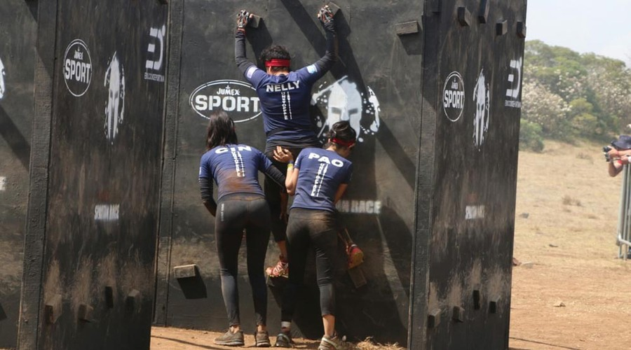Esfuerzo máximo en el Spartan Race