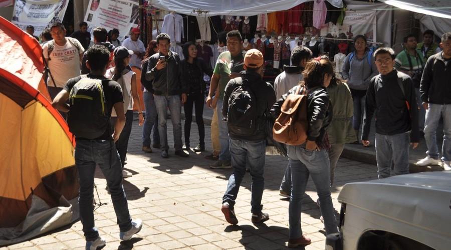 Frustran protesta de CENEO